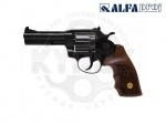 Alfa 441 воронен. дерево револьвер под патрон Флобера