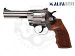 Alfa 441 никель дерево револьвер под патрон Флобера