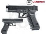 Umarex Glock 17 Gen 3 / Gen 4 / Gen 5 Пневматический пистолет - Пистолет Umarex Glock 17 -  Первая лицензированная копия культового пистолета австрийского бренда Glock! Пистолет, как и оригинал, имеет каркас из полимерного материала, а затвор, наружный ствол и магазин изготовлены из металла. На затворе есть лицензион