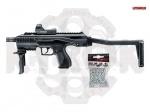 Umarex TAC Kit автомат, пистолет - Umarex TAC Kit - представляет собой набор для стрельбы, который включает в себя популярный пистолет Umarex XBG и аксессуары для конвертации,(цевья, приклада, коллиматора) что позволяет превратить пистолет в стильный автомат - пулемет.