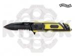 Нож Walther ERK black - yellow