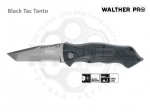 Нож Walther PRO Black Tac Tanto