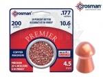 Пули Crosman Copper Magnum Domed - Пули Crosman Copper Magnum Domed - новая пуля от компании Crosman,всем известная пуля Domed теперь с специальном медном покрытием (на 20 % тверже, чем сравнимые свинцовые пули). Вес 0,68 грамм, 200 шт.