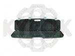 Кейс Megaline 125x25x11 пластиковый,черный,клипсы