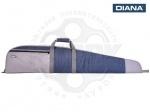 Чехол ружейный Diana 130 см серо-синий - Чехол Diana - износостойкий и функциональный чехол длиной 130 см для максимально комфортной транспортировки винтовок Diana. Изготовлен из полиэстера. Имеет наружный карман для пуль и мишеней.
