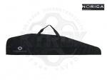 Чехол Norica черный для винтовок с оптическим прицелом - Чехол Norica black – фирменный чехол с оригинальным логотипом компании Norica для хранения и транспортировки пневматической винтовки с оптическим прицелом. Чехол из прочного нейлонового материала. В двух размерах - 112 и 132 см.