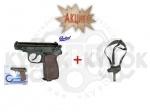Пневматический пистолет МР654К   кобура