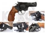 Револьвер Streamer 3 black wood