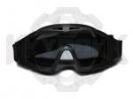 Тактические, баллистические очки-маска Desert Locust black