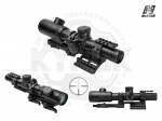 Оптический прицел NcStar 1.1-4x24 с креплением