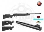 Пневматическая винтовка Hatsan 87 QE - Винтовка Hatsan MOD 87 QE - новая турецкая воздушка.  Эргономичный и стильный приклад с возможностью регулировки щеки. Особенность модели, встроенный глушитель. Скорость вылета пули, м/с: 305