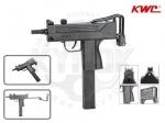 Пистолет-пулемет KWC KM55 Uzi Mini - Пистолет-пулемет KWC KM55 Uzi Mini -  газобаллонная пневматическая копия боевого аналога от производителя KWC Cybergun. Для большего сходства модель частично выполнена из металлического сплава. Скорость пули 130 м/с. Ёмкость магазина 39 шариков