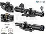 Оптический прицел Barska AR6 Tactical 1-6x24 (IR Mil-Dot R/G)
