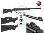 Пневматическая винтовка Hatsan 87QE Vortex - Винтовка Hatsan MOD 87QE Vortex - новинка 2016 года, турецкая воздушка.  Эргономичный и стильный приклад с возможностью регулировки щеки. Особенность модели, встроенный глушитель и газовая пружина. Скорость вылета пули, м/с: 305