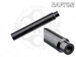 Глушитель Raptor Silent X - Raptor Silent X - универсальный глушитель для пневматических винтовок с резьбой 1/2 UNF. Длина - 198 мм, диаметр - 29 мм.