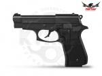 Стартовый пистолет Retay 84FS - Пистолет Retay 84FS - полуавтоматический стартовый пистолетом с УСМ двойного действия. Модель представляет собой копию знаменитого пистолета Beretta M 84FS. Пистолет предназначен для отстрела холостых патронов.