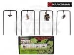 Качающаяся мишень Marksman Zombie Target Set - Тир пневматический Marksman Zombie Target Set - портативный тир с 4 качающимися мишенями для пневматического оружия.