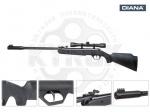 Пневматическая винтовка DIANA TWENTY- ONE FBB - Винтовка DIANA twenty-one FBB - новинка в Украине от немецкого производителя DIANA. Очень качественная модель начального уровня для обучения стрелков. Начальная скорость 175 м/с, интегрированный саундмодератор, оптический прицел 4х32.