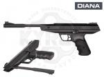 Пневматический пистолет DIANA LP8 Magnum - Пистолет DIANA LP8 Magnum - классический мощный пистолет от немецкого производителя. Зарядка пистолета осуществляется переломом ствола. Предохранитель автоматический, двухсторонний. Начальная скорость пули 175 м/с.