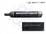 Баллончик СО2 88гр. Borner - Баллончик СО2 Borner 88гр. - баллончик для пневматических газобаллонных винтовок.