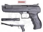 Пистолет WEIHRAUCH HW 40 PCA - Пистолет WEIHRAUCH HW 40 PCA - Компрессионный пневматический пистолет, однократного действия с рычагом натяжения. Удобный и хорошо сбалансированный, приспособленный для правшей и левшей. начальная скорость 122 м/с.