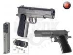 Пистолет Hatsan H-1911 - Пистолет Hatsan H-1911 - то оригинальная газобаллонная реплика знаменитого Кольта выпуска 1911 года. Данная модель отличается использованием свинцовых пуль 4,5 мм, под них был разработан магазин пистолета. Для боеприпасов предусмотрен клапанный узел с отд
