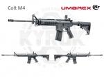 Винтовка Umarex COLT M4 - Винтовка Umarex COLT M4 - пневматическая копия легендарной М4 (Colt Model 920). Система взвода перелом ствола, начальная скорость вылета пули 250 м/с, Дульная энергия 16 Дж. Приклад и цевье винтовки изготовлены из ударопрочного пластика, антабки для ружей