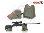 Подушка для пристрелки Gamo SHOOTING BAG II - Подушка для пристрелки Gamo SHOOTING BAG II - состоит из подушки большего и меньшего размера для каждого ствола и ствола в качестве основы для безопасного прицеливания и стрельбы. Для защиты винтовки опорные поверхности выполнены из замши.