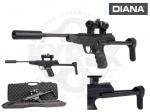 Пневматический пистолет DIANA LP8 Magnum Tactical - Пистолет Diana LP8 Magnum Tactical - это тактический вариант Diana LP8 Magnum, новая версия имеет интегрированный глушитель, фиксированный приклад и коллиматорный прицел. Заряжается переломом ствола. Предохранитель автоматический, двухсторонний.