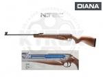 Пневматическая винтовка Diana 350 N-TEC Premium - Пневматическая винтовка Diana 350 N-TEC Premium - воздушка с газовой пружиной немецкого производства, регулируемый двухступенчатый спусковой механизм Т06, оптоволоконный прицел Truglo. Начальная скорость 400 м/с.