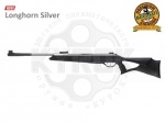 Пневматическая винтовка Beeman Longhorn Silver / GR - Пневматическая винтовка Beeman Longhorn Silver - Новинка, ложе выполнено из ударопрочного пластика с пистолетной рукоятью. Отличие от Longhorn покрытие ствола, в данной модели ствол никелирован. Начальная скорость полета пули 365 м/с.