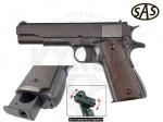 Пистолет SAS M1911 Pellet - Пистолет SAS M1911 Pellet - Является копией легендарного Colt Government Model 1911A1. Отличие от других моделей Colt М1911, данная модель стреляет не шариками ВВ, а пулями Диабло имеет роторный магазин с двумя барабанами емкостью 6 пуль.