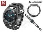 Часы-мультитул Leatherman Tread Tempo - Часы-мультитул Leatherman Tread Tempo - это надежные и качественные часы, но еще и браслет-мультитул, содержащий 30 инструментов, браслет TREAD изготовленный из нержавеющей стали 17-4. Швейцарский кварцевый хронограф показывает время и дату.