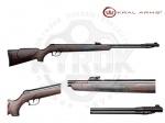 Винтовка Kral 002 пластик под дерево - Пневматическая винтовка Kral 002 пластиковый приклад под дерево, подствольный взвод. Прототипом для создания данной винтовки является известная испанская винтовка Gamo CFX. Начальная скорость пули: 310м/с