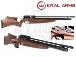 Винтовка PCP Kral PUNCHER Pro Wood - Винтовка Kral PUNCHER Pro Wood PCP - новинка с предварительным накачиванием (Pre-Charged Pneumatics) от турецкой компании Kral. Материал приклада: турецкий орех. Ложа имеет пистолетную рукоять со сквозным хватом. Начальная скорость 330 м/с.
