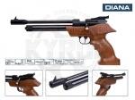 Пневматический пистолет Diana Airbug - Пистолет DIANA Airbug - это мощный пневматический пистолет, источник энергии баллончики CO2 12 грамм, с эргономичной деревянной ручкой. В комплекте 9-ти зарядный  магазин для пуль 4,5 мм. Начальная скорость вылета пули 160 м/с.