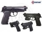 Пистолет Crosman C31 LazerScope - Пистолет пневматический Crosman С31 LazerScope - легкий и компактный пистолет от американской компании Crosman, с установленным лазерным целеуказателем.Пистолет стреляет стальными ВВ шариками со скоростью 151 м/с.