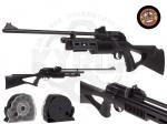 Пневматическая винтовка Beeman QB II CO2 - Винтовка СО2 Beeman QB II - пневматическая винтовка с болтовым затвором, работающая от двух 12-ти граммовых баллонов CO2, 10-ти зарядный магазин. Эргономичная ложа винтовки, изготовленная из прочного полимера, имеет пистолетную рукоять.