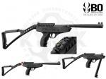 Пистолет Black Ops Langley Pro Sniper - Пистолет Black Ops Langley Pro Sniper - новинка на Украинском рынке. Тактический, съемный приклад. Мощный пистолет, начальная скорость вылета пули 180 м/с. Тип взвода : перелом ствола.