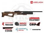 Винтовка РСР Aselkon MX9 Sniper Wood
