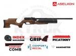 Винтовка РСР Aselkon MX6 Matte Black Wood