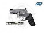 Револьвер ASG Dan Wesson 715 Pellet 2.5 - Револьвер ASG Dan Wesson 715 Pellet 2.5 - копия легендарного револьвера конструкции Смита и Вессона производства компании Dan Wesson Firearms.  Из металла изготовлен не только корпус, но и полностью функциональный откидной барабан. Скорость пули 105 м/с