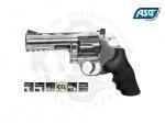 Револьвер ASG Dan Wesson 715 Pellet 4 - Револьвер ASG Dan Wesson 715 Pellet 4 - копия легендарного револьвера конструкции Смита и Вессона производства компании Dan Wesson Firearms.  Из металла изготовлен не только корпус, но и полностью функциональный откидной барабан. Скорость пули 125 м/с