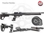 Винтовка PCP Kral Puncher Rambo - Винтовка PCP Kral Puncher Rambo - пневматическая винтовка с предварительной накачкой РСР. В данной винтовке используется система перезарядки Pump Action. (Снизу под стволом специальный
