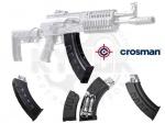 Магазин для Crosman AK1 Full Auto - Магазин для Crosman AK1 - запасной магазин к автоматической винтовке (автомату) Crosman Full Auto AK1.  Боеприпасы: шарики BB 4,5 мм  Емкость магазина: 25