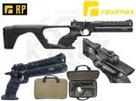 Пистолет-карабин Reximex RP - Пистолет-карабин Reximex RP -  пистолет с предварительной накачкой (РСР) от турецкой компании. Уникальный дизайн, корпус выполнен из прочного полимера и алюминия, имеет съемный полимерный приклад. Начальная скорость полета пули 200 м/с.