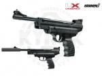 Пистолет Hammerli Firehornet - Пистолет Hammerli Firehornet - Пружинно-поршневой пистолет переломка от компании Umarex. Классический дизайн, анатомическая рукоять, плавающая система для уменьшения отдачи. Начальная скорость полета пули 175 м/с.