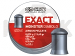 Пули JSB Monster Exact Diabolo 0,87 гр - 400 шт.