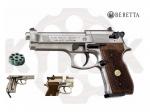 Пистолет Beretta M 92 FS nikel wood