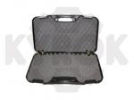 Кейс Megaline 50x30x8.5 пластиковый,черный,клипсы